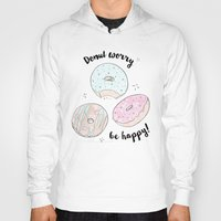 donuts Hoodies featuring Donuts by Inna Moreva