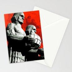 Stone Men of Helsinki Stationery Cards