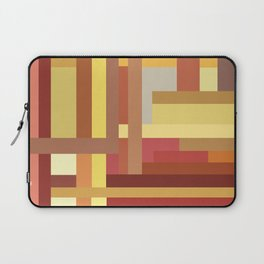 Marigold Stripes Laptop Sleeve