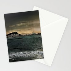 Storm in the sea Stationery Cards