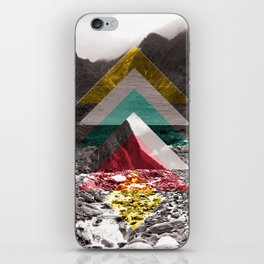 Sojourn series - Fox Glacier  iPhone Skin