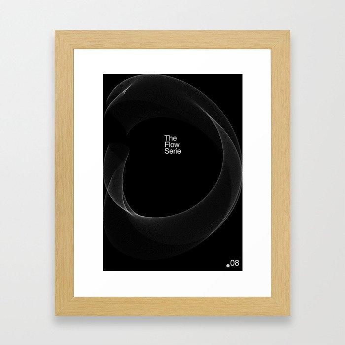 The Flow Series #08 Framed Art Print