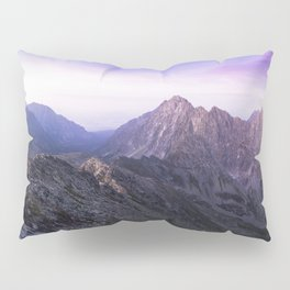 MISTY PURPLE MOUNTAINS Pillow Sham