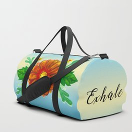 Inhale & Exhale Mandala Duffle Bag