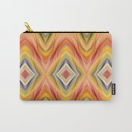 pattern orange Carry-All Pouch