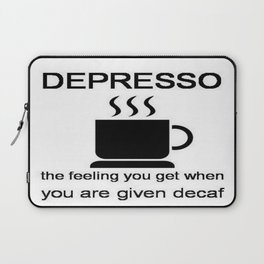 Depresso Laptop Sleeve