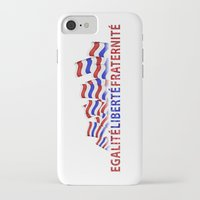 bastille iPhone & iPod Cases featuring Bastille Day by DFLC Prints