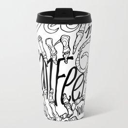 Chainsmokers+Roses Metal Travel Mug
