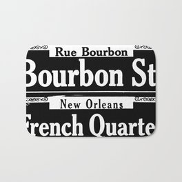 New Orleans French Quarters Bath Mat