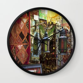 Arabian Lanterns 2! Wall Clock