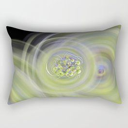 Atom Flowers #13 Rectangular Pillow