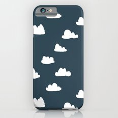 Clouds - Parisian Blue by Andrea Lauren Slim Case iPhone 6s