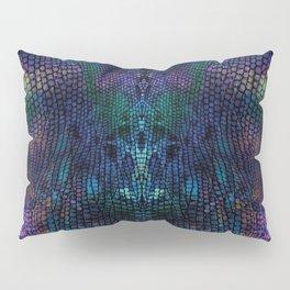 Violet snake skin pattern Pillow Sham