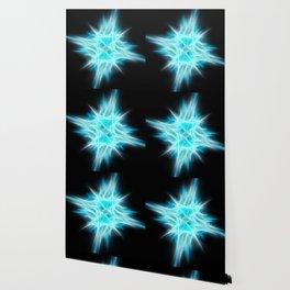 Aqua Blue Star 1 Wallpaper