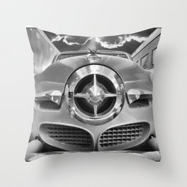 Studebaker and Trains Throw Pillow
