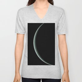 Nasa Picture 10: the shadow of Uranus Unisex V-Neck