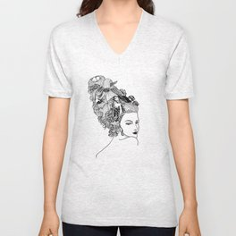 Imaginary History #913 Unisex V-Neck