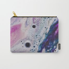 PINK AND BLUE GRADIENTS MIXING #2 Carry-All Pouch
