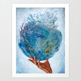 A Drop of the Ocean Art Print