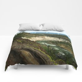 Yellowstone River View Comforters