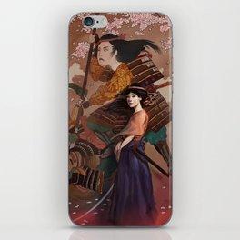 The Spirit of Tomoe Gozen iPhone Skin