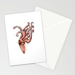 Octopus (Octopus vulgaris) Stationery Cards