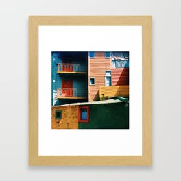 Caminito Framed Art Print
