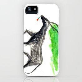 dark deer iPhone Case