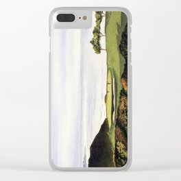 Torrey Pines South Golf Course Hole 3 Clear iPhone Case