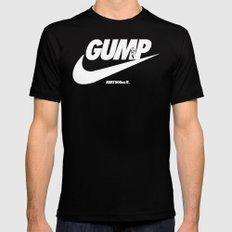 Gump- JustDoIt Mens Fitted Tee MEDIUM Black