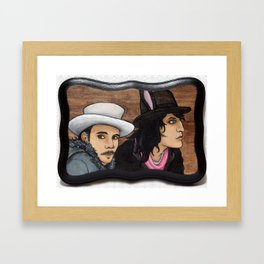 The Brothers Fielding Framed Art Print