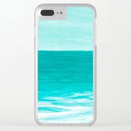 Cast Away Clear iPhone Case