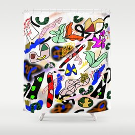 Somatic Integration Shower Curtain