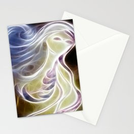 Girl Lost Digital Stationery Cards