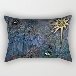 Upon a Midnight Clear Rectangular Pillow
