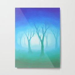 Forest of Mystery Metal Print