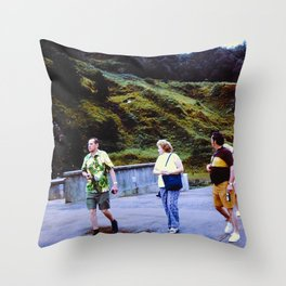 The Walkers Throw Pillow