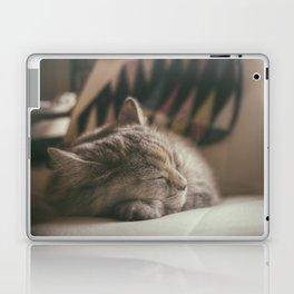 Sweet lullaby. Cat nap. Laptop & iPad Skin