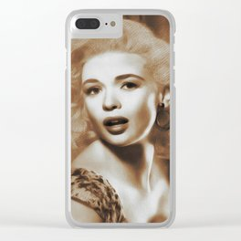 Jayne Mansfield, Actress Clear iPhone Case