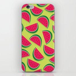 Juicy Watermelon Slices iPhone Skin