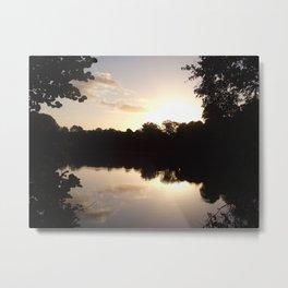 Peaceful Metal Print