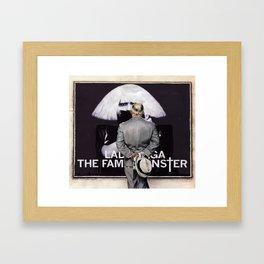 Considering Fame Framed Art Print