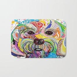 Maltese Puppy Bath Mat