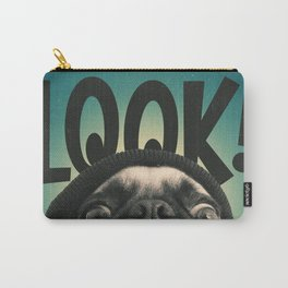 LOOK it's Lola the pug Carry-All Pouch