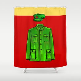 Chairman Mao Shower Curtain