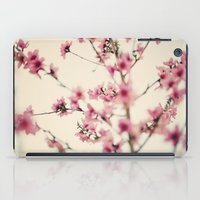sakura iPad Cases featuring Sakura by Laura Ruth