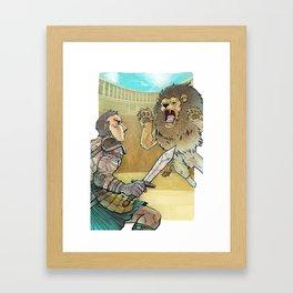 Gladiador Framed Art Print