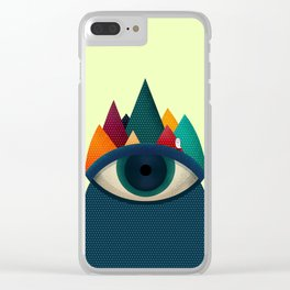 068 - I've seen it owl Clear iPhone Case