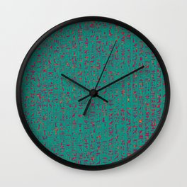 Hieroglyphics HOT Wall Clock