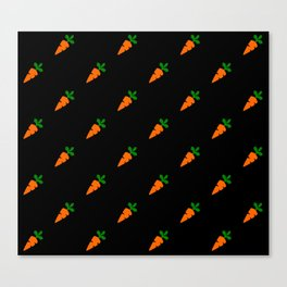 carrot pattern desgin Canvas Print